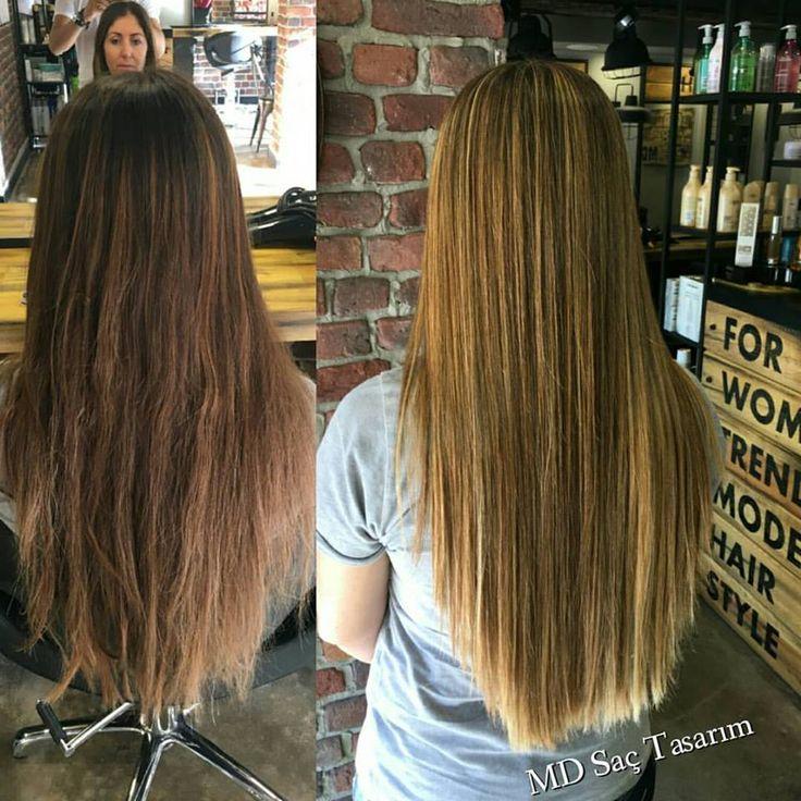 ❤❤ #izmir #hairartistry #hairstyle #haircolors #haircolor #instahair #ombre #newhair #instahair #instagood #blonde #efsanesaclar #hairlove #sac #instagram #krepebalyaj #lovehair #me #styleartists #mdsaçtasarım #photography #photooftheday #kuaför #balyaj #renklendirme #makeup #blonde #exclusivesalon #hairdesign #mdsaçtasarım