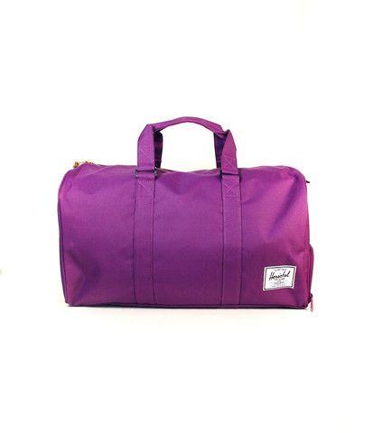 Herschel Novel Duffle Bag - Purple/Purple