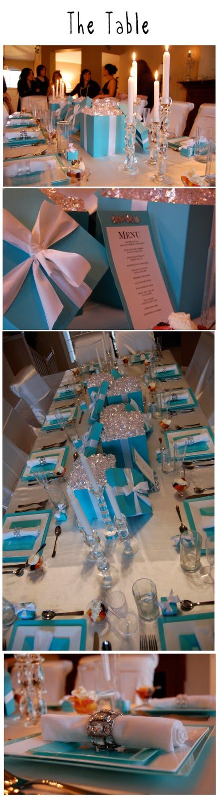 Breakfast @Tiffany's Brunch! Love all of the ideas @ designmuseblog.blogspot.com