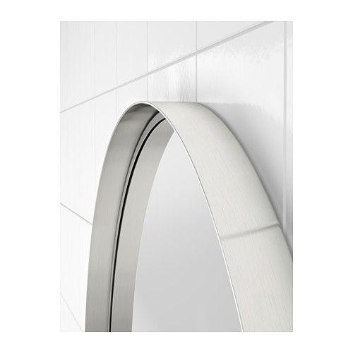 GRUNDTAL Spegel, rostfritt stål rostfritt stål 60 cm