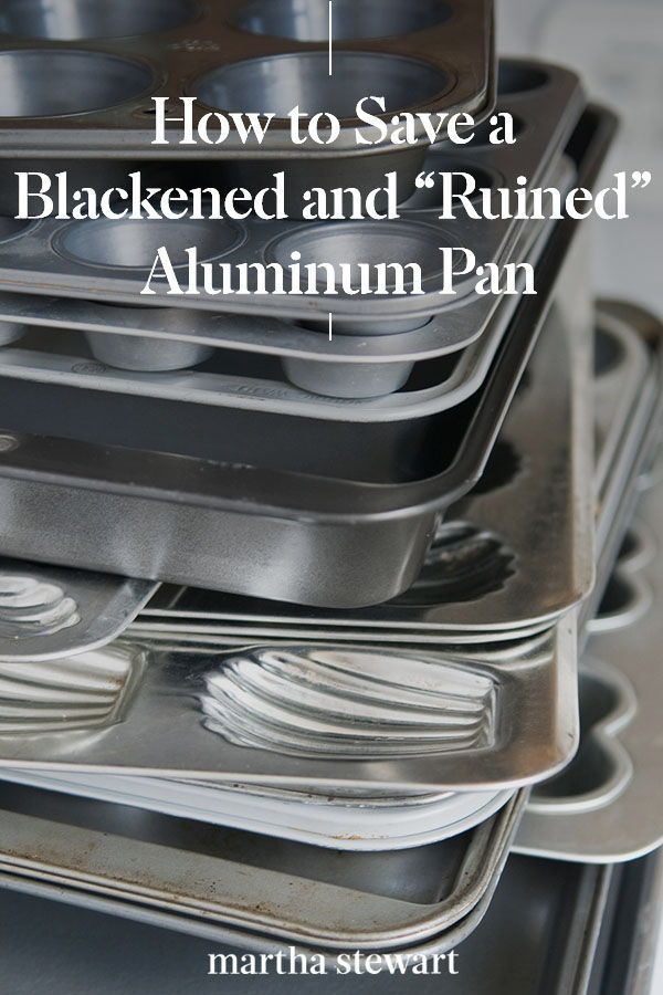 How To Restore A Blackened Aluminum Pan In 2020 Diy Cleaning Products Recipes Household Cleaning Tips Diy Cleaning Products