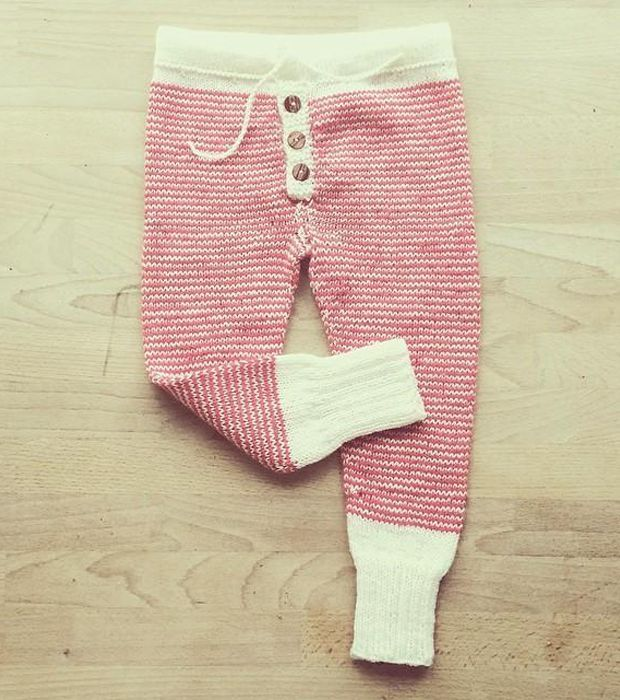 Autumn/Winter Trends 2015: Knitting Patterns for Babies - The Candypants baby knitting pattern by Sofie Bovbjerg