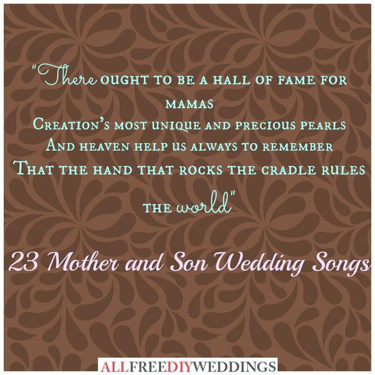 Emejing Mother Son Wedding Dance Songs Lyrics Photos - Styles ...