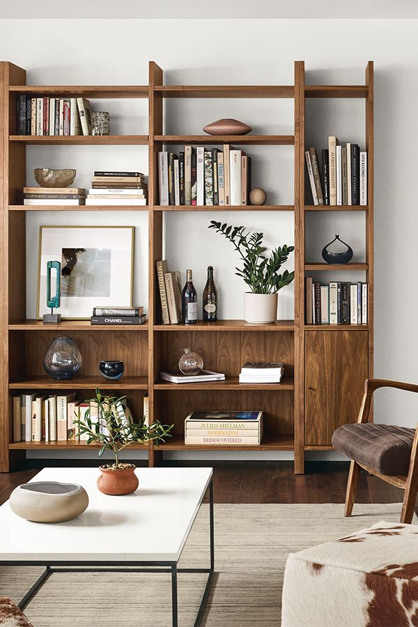 Modern Bookcase Bookshelves In Living Room Living Room Wall Units Modern Furniture Living Room #wall #storage #units #living #room