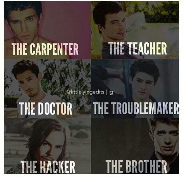 "Love Pll boys although my heart goes out to the ""brother"" Jason Dilaurentis"