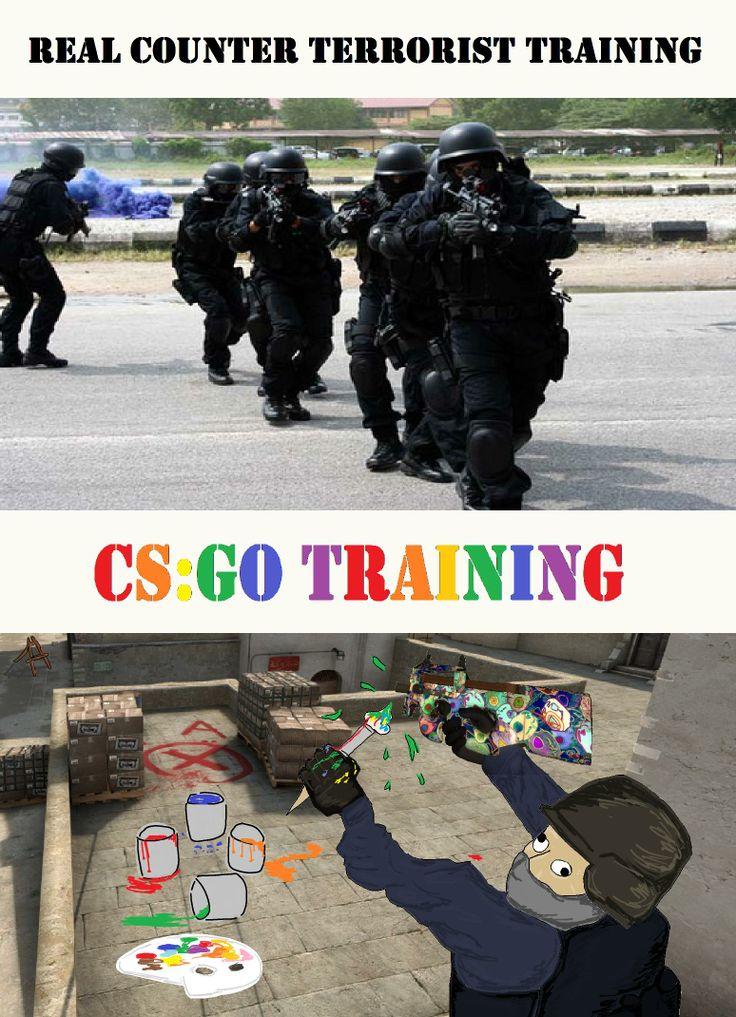 CS Go Training #CounterStrike   Video Game Fun   Pinterest ...