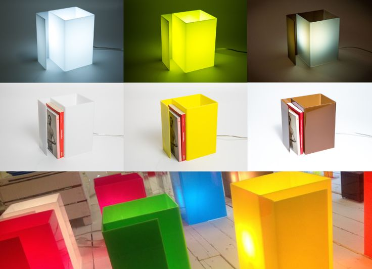 Acryilic an modern sidebed lamps. #plexiglass #acrylic #sidebed #design #designtrasparente #color #colorful