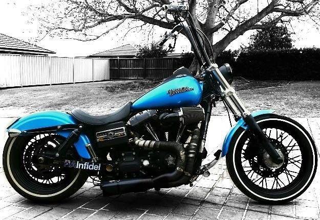 Harley Dyna Street Bob custom