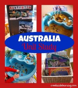 Australia Unit Study from Creekside Learning