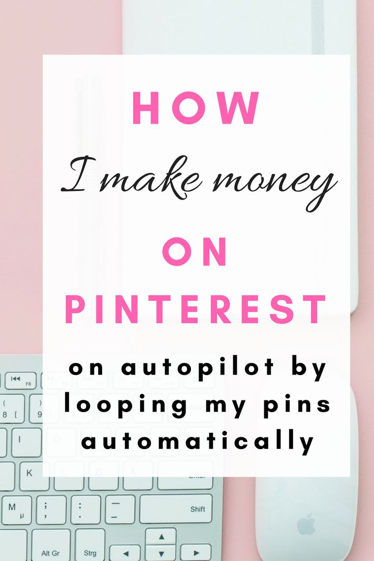 How I make money on Pinterest on autopilot by looping my pins automatically using this app. Get started for free, click the link!