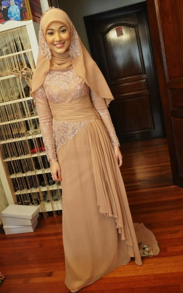 Dresses Ideas to Wear on Your Engagement..fathi I think this will look stunning in emerald or royal blue..