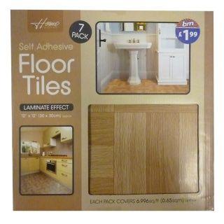 Laminated Vinyl Tiles