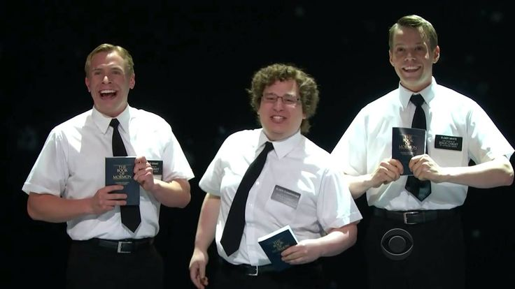 "THE BOOK OF MORMON (Broadway) - ""Hello"" [LIVE @ The 2012 Tony Awards]"
