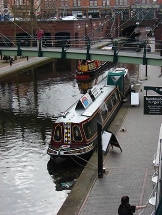 The Floating Coffee Company, Birmingham, UK On The Canal, This Place Is  Great