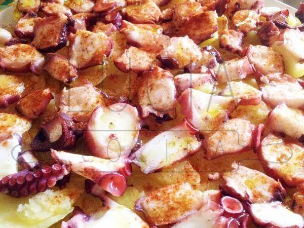 Pulpo a feira, LUCIAcocina http://luciacocinabogota.blogspot.com/