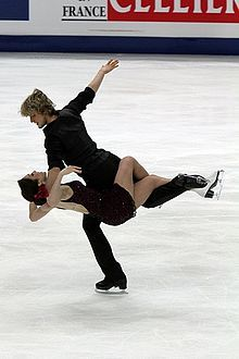 white and Davis... Ice Dancing