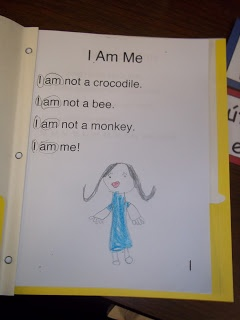 Mrs. Woods Kindergarten Class phrase négative