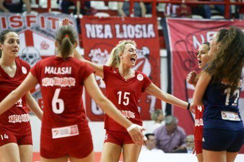 Πρωταθλητής Ελλάδας ο Ολυμπιακός στο βόλεϊ γυναικών