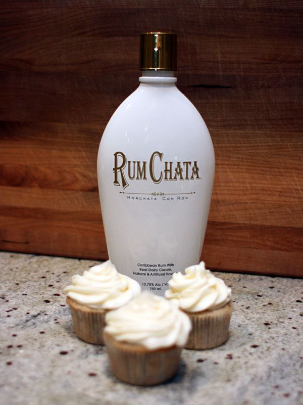 Rum Chata Cupcakes - Now if only I could get the Rum Chata craze down in Texas!!