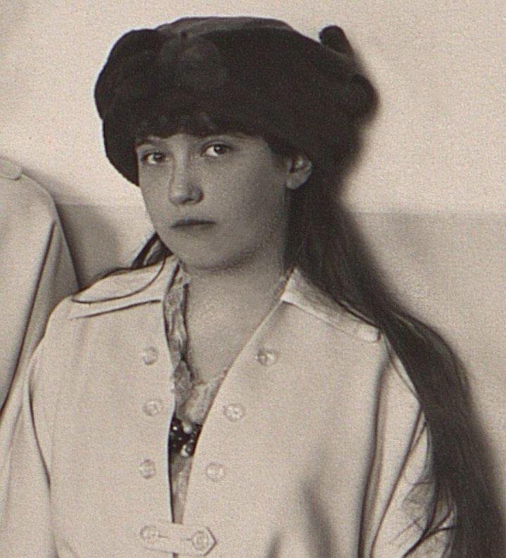 Grand Duchess Anastasia Nikolaevna of Russia. - Ukhudshanskiy