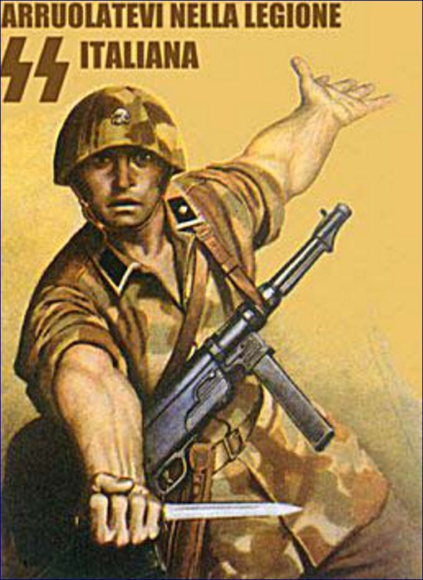"""Enlist for the Italian SS Legion"""