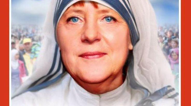Το Spiegel έκανε τη Μέρκελ «Μητέρα Τερέζα»