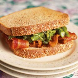 Asparagus and Bacon on Toast Recipe - Saveur.com: Healthy Meal, Asparagus Recipes, Bacon Sandwich, Diets Foods, Diet Foods, Comfort Food, Paleo Diet, Healthy Food