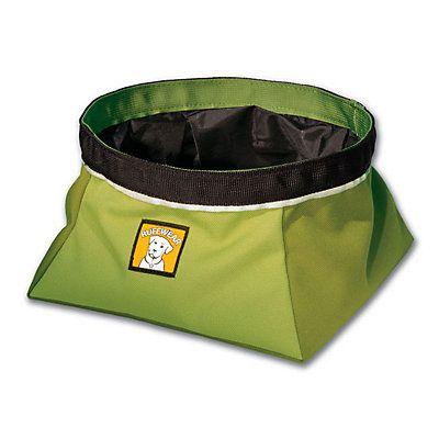 Ruffwear Quencher Dog Bowl, Lichen Green