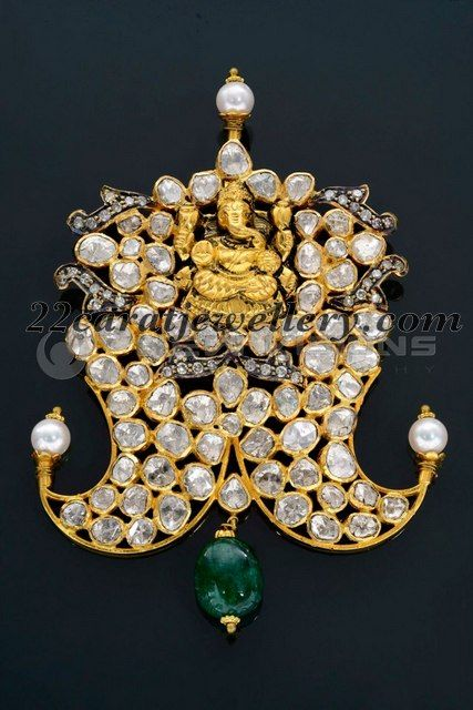 ganesha and puligora jewellery