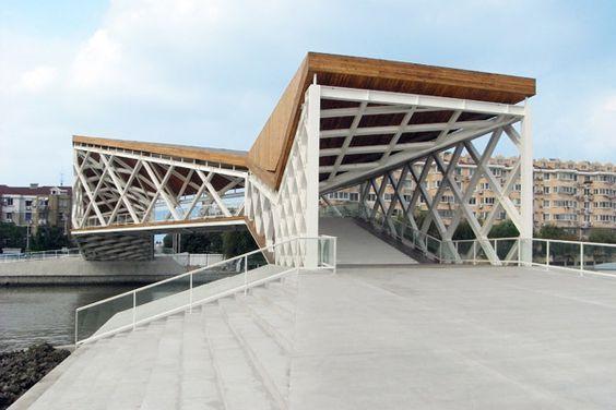 Quingpu Puente Peatonal -  CA-DESIGN - China