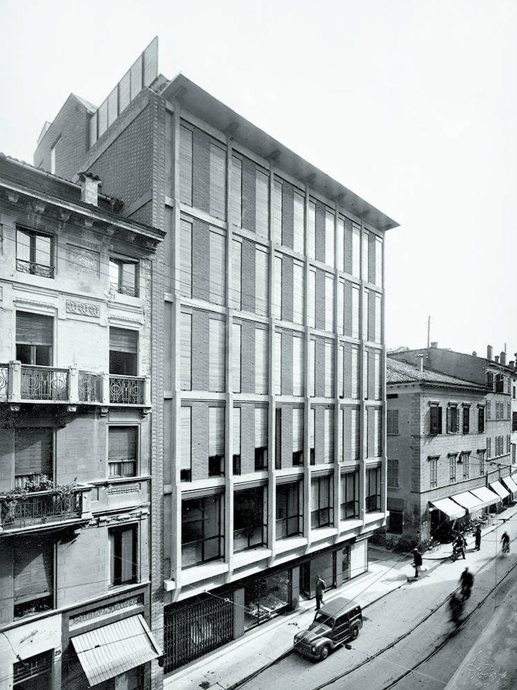 Edificio per uffici INA, Parma, 1950
