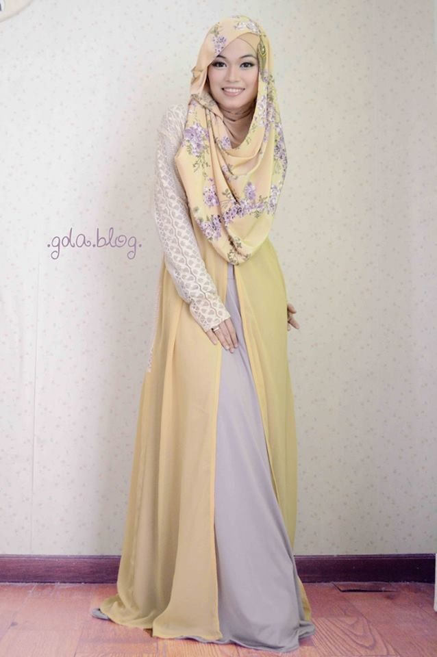 Ghaida Tsurayya, one of my favourite hijab fashion icon from Indonesia.