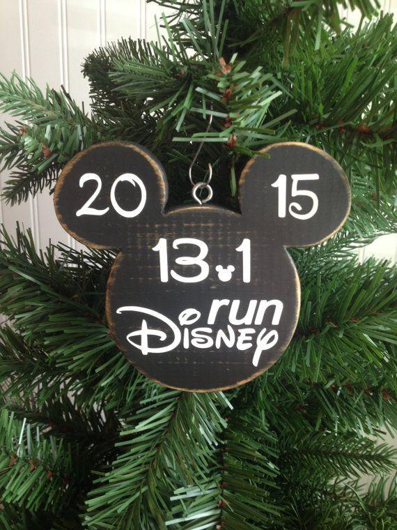 Run Disney Marathon Christmas Ornament by CelebrateOrnaments, $12.00