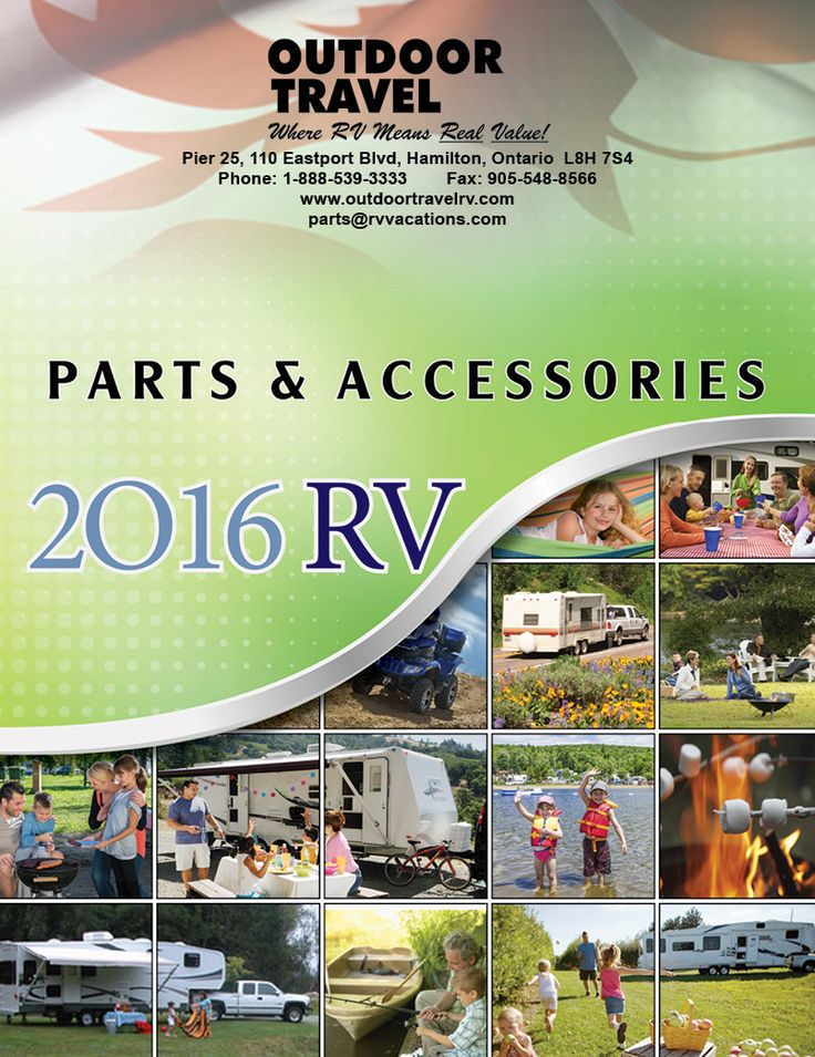 RV Parts and Accessories Catalog