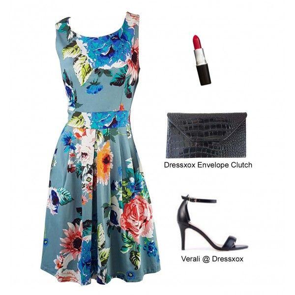 Agua Floral Party Dress
