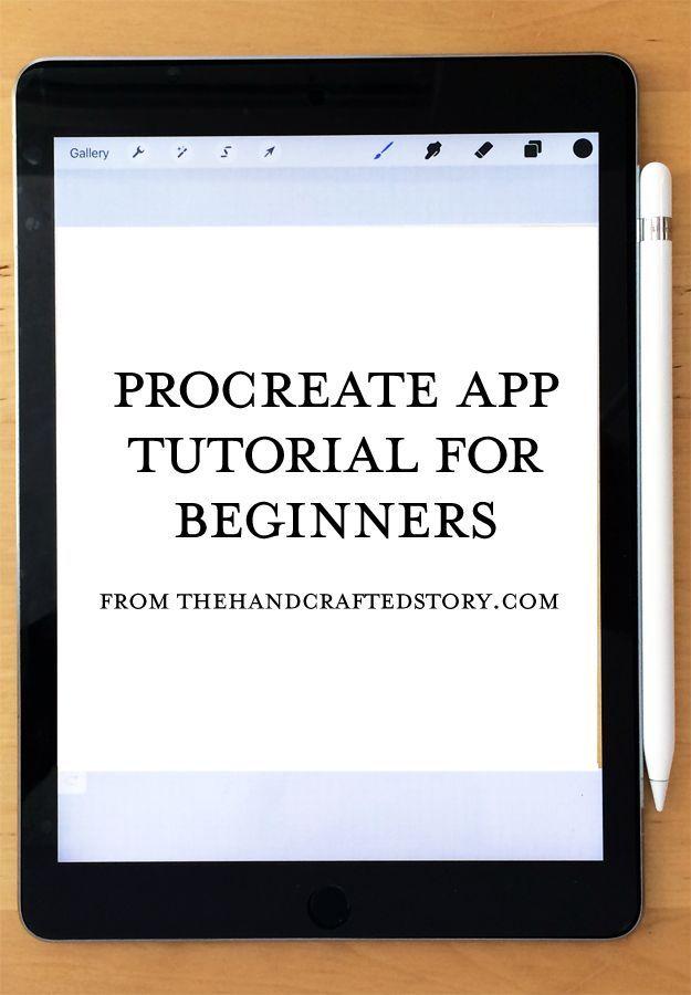 Procreate App Tutorial for Beginners