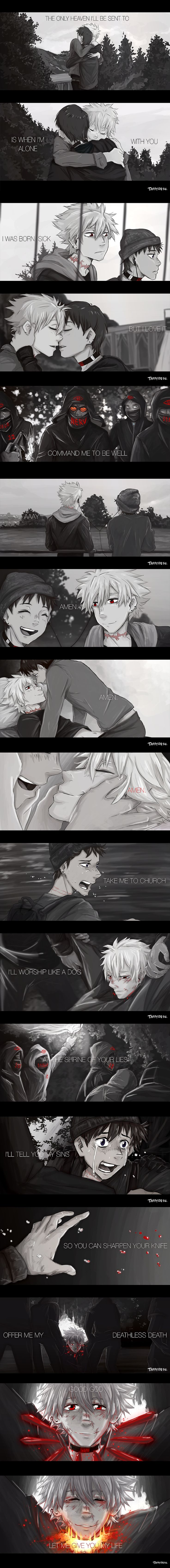 Kawoshin Take me to church by TaffyDesu