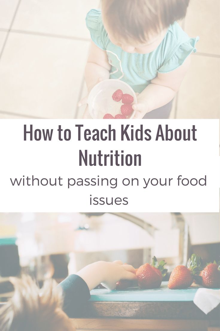 Are you tired of having the same fight about food with your kids? Try this method to teach them about nutrition in a positive, healthy way