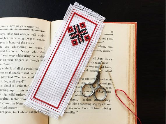 24 best ideas about ukranian embroidery cross stitch on for Diy bookmarks for guys