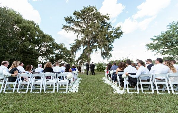Is An Intimate Wedding Right For You A Chair Affair Inc Orlando Wedding Planner Intimate Wedding Outdoor Wedding