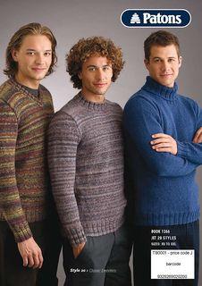 Classic Sweater Style 20 pattern by Patons Australia