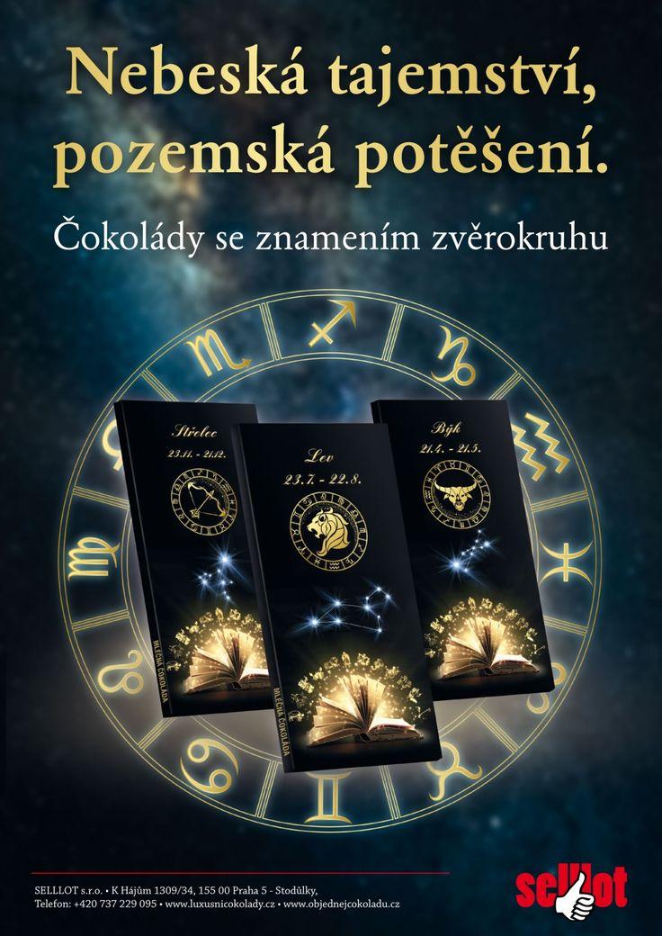 Dárková čokoláda v unikátní kolekci s motivy zvěrokruhu