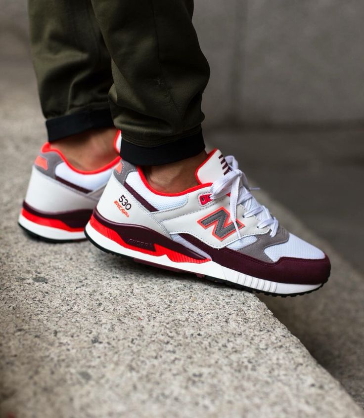 new balance 530 burgundy gum