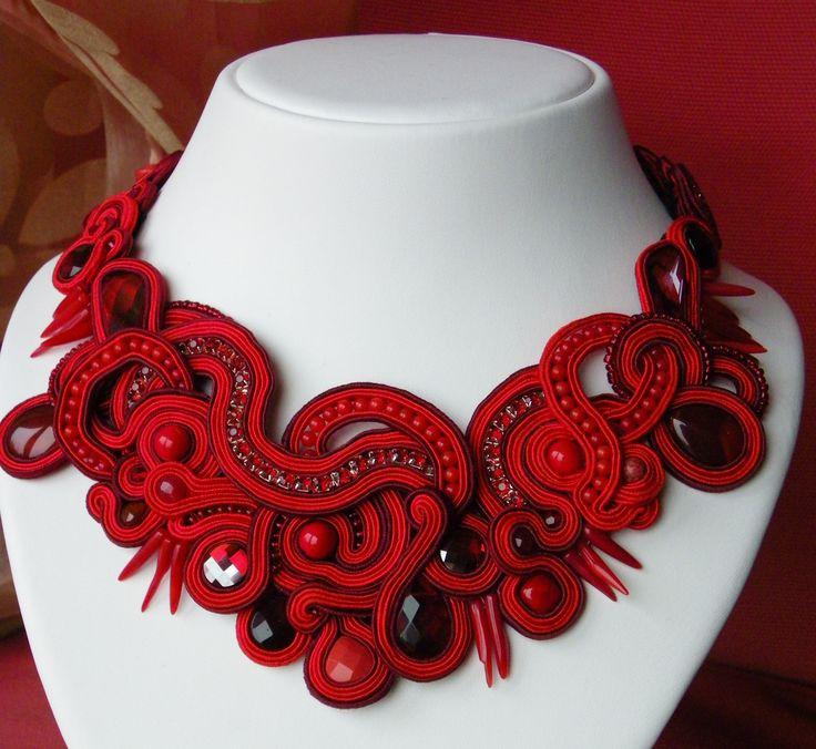 Red Soutache