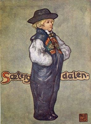 Nico Jungman (1872–1935) - Norway, 1905 A Boy of Saetersdalen (+++)
