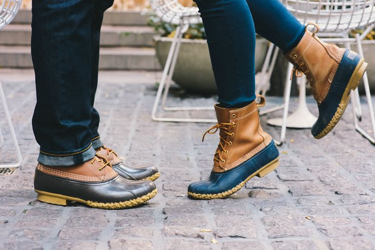 His and Hers Bean Boot Style