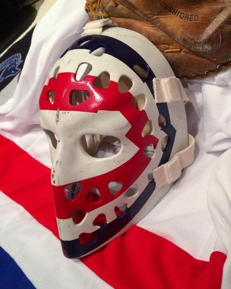 ken dryden vintage goalie masks tom connauton
