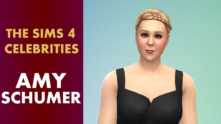 The Sims 4 Celebrities - Amy Schumer
