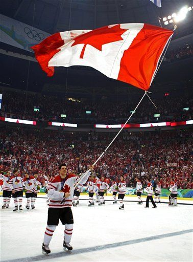 Hoping for repeat Canadian gold in men's and women's hockey in Sochi!