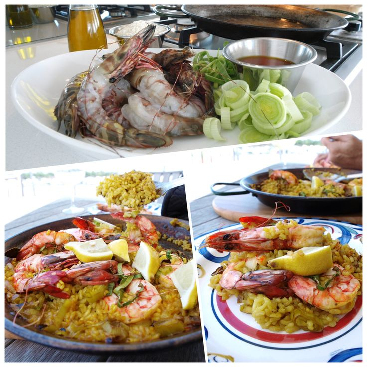 Paella - Learn the secret to making authentic Paella using local organic produce.